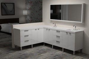 The Benefits of Floating Vanities