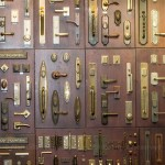Door locks at the Annapolis showroom